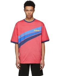 DSquared² | Red Hawaii Super Over It T-shirt | Lyst