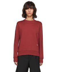 Acne Studios - Red Faise Sweatshirt - Lyst