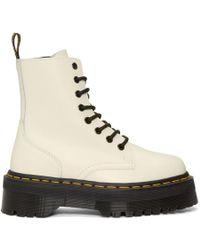 Dr. Martens - White Jadon Boots - Lyst