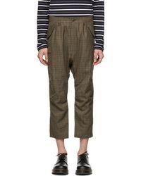 Junya Watanabe - Brown Wool Cargo Pants - Lyst