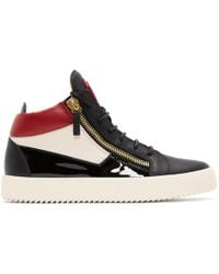 Giuseppe Zanotti - Tricolor May London High-top Trainers - Lyst