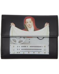Undercover - Black Painting Wallet - Lyst
