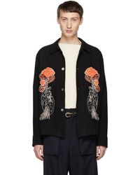 Our Legacy - Embroidered Box Shirt - Lyst