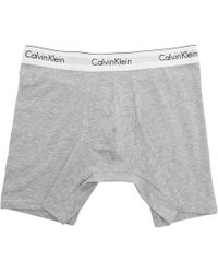 Calvin Klein - Two-pack Black And Grey Low-rise Boxer Briefs - Lyst