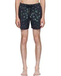 Vilebrequin - Navy Moorise Mordore Superflex Swim Shorts - Lyst
