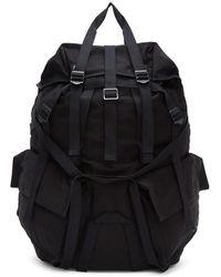 Julius - Black Straps Backpack - Lyst