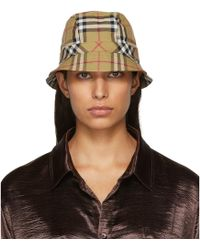 Burberry - Beige Rainbow Bucket Hat - Lyst