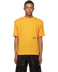 Nike - Orange Nrg Acg Variable T-shirt - Lyst
