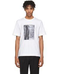 Jil Sander - Ssense Exclusive White Mario Sorrenti Edition 009 T-shirt - Lyst