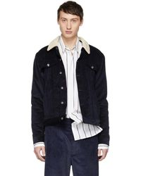 Éditions MR - Navy Marlon Jacket - Lyst