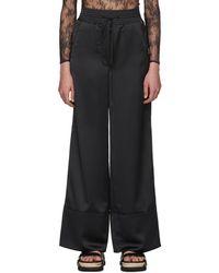 Off-White c/o Virgil Abloh - Black Cargo Pyjama Trousers - Lyst