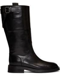 Ann Demeulemeester - Black Tall Boots - Lyst