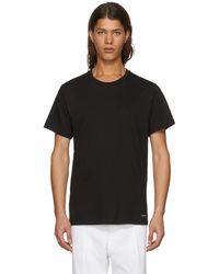 CALVIN KLEIN 205W39NYC - Three-pack Black Crewneck T-shirt - Lyst