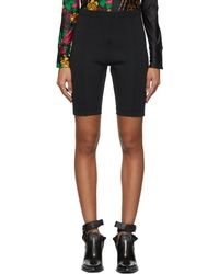 Toga - Black Bike Shorts - Lyst