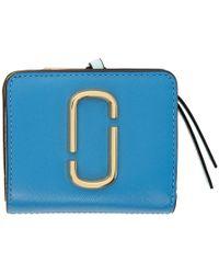 Marc Jacobs - Blue Mini Snapshot Compact Wallet - Lyst