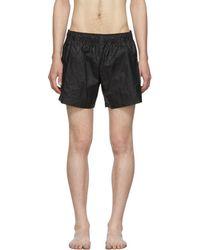 e7f5a2fb9a Off-White c/o Virgil Abloh Off-white X Vilebrequin Logo-print Swim Shorts  in Black for Men - Lyst