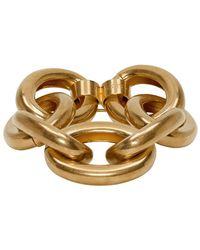 Marni - ゴールド オーバーサイズ チェーン ブレスレット - Lyst