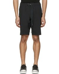 Attachment - Black Slim Shorts - Lyst