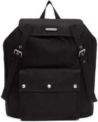 Saint Laurent - Black Noe Backpack - Lyst