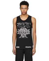 KTZ - Black Arm Vision Tank Top - Lyst