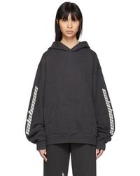 Yeezy - Black Calabasas French Terry Hoodie - Lyst