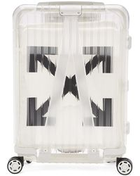 Off-White c/o Virgil Abloh - Valise de cabine blanche See-Through edition RIMOWA - Lyst
