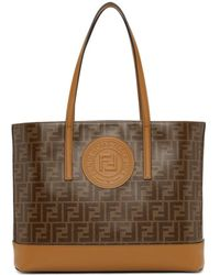 Fendi - Brown Forever Tote - Lyst
