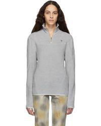 GmbH - Grey Organic Moses Sweater - Lyst
