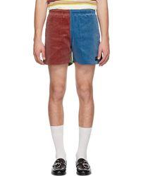 Noah - Multicolour Corduroy Winter Running Shorts - Lyst