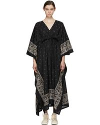 Visvim | Black Kaftan Bandana Dress | Lyst
