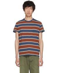 Levi's - Tricolor Casual Stripe T-shirt - Lyst