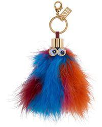 Sophie Hulme - Multicolor Feather Leonard Keychain - Lyst