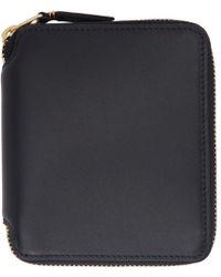 Comme des Garçons - Black Classic Zip Wallet - Lyst