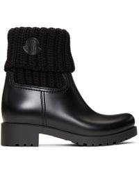 Moncler - Black Ginette Boots - Lyst