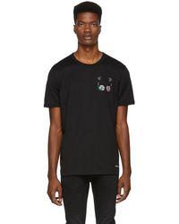 Dolce & Gabbana - Black Scuba Designers T-shirt - Lyst