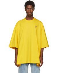 Balenciaga   Yellow Power Of Dreams Big Fit T-shirt   Lyst
