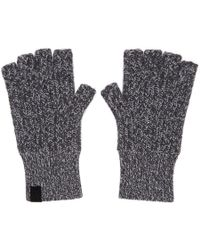 Rag & Bone - Grey Cashmere Ace Mitts - Lyst