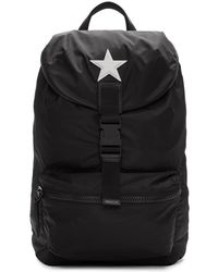 Givenchy - Black Nylon Star Obsedia Backpack - Lyst