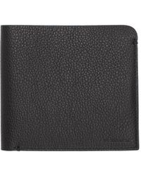 Neil Barrett - Black And Blue Large Leather Bifold Wallet - Lyst