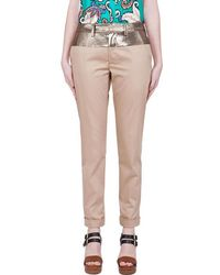 Thakoon - Beige Cropped Pants - Lyst