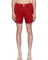 Vilebrequin - Red Merise Swim Shorts - Lyst