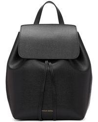 Mansur Gavriel - Black Saffiano Mini Backpack - Lyst