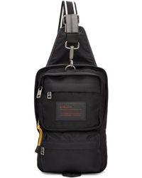 Givenchy - Black Nylon Ut3 Crossbody Bag - Lyst