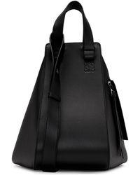 Loewe - Black Medium Hammock Bag - Lyst