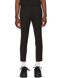 DSquared² - Black Skinny Dan Fit Trousers - Lyst