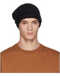 35ac5fc77fd Rick Owens Ssense Exclusive Black Bucket Hat in Black for Men - Lyst
