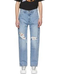 Off-White c/o Virgil Abloh - Blue Levis Made And Crafted Edition Carpenter Jeans - Lyst