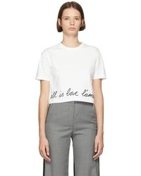 Stella McCartney - White All Is Love T-shirt - Lyst