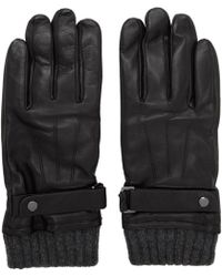 Mackage - Black Leather Reeve Gloves - Lyst