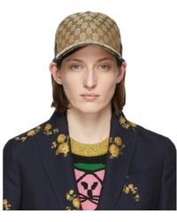 Gucci - Beige Original GG Canvas Baseball Cap - Lyst